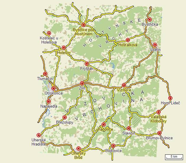 Turisticke Trasy A Mapy